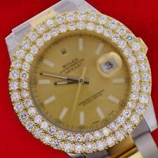 2 Row Diamond Bezel of 6.50 Carat For Rolex President Watch 36mm Best Price Deal