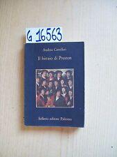 A. CAMILLERI - IL BIRRAIO DI PRESTON - SELLERIO EDITORE - 2002