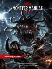 Dungeons & Dragons D&D 5E 5th Edition Core Rulebook Monster Manual (New)