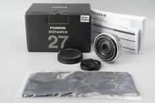 Fujifilm Fujinon XF 27mm f/2.8 F2.8 Lens (Silver), Suit X-T2 X-Pro2 X-T3 X-T30