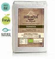farina integrale biologica di grano duro TUMMINIA 5 kg Macinata a Pietra BIO
