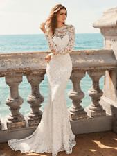 Wedding dress Ivory size 10 White One by Pronovias lace