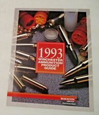 NOS VINTAGE 1993 WINCHESTER AMMUNITION PRODUCT GUIDE MANUAL CATALOG