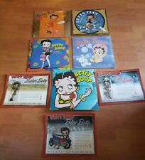 Betty Boop Lot of  3 Patches Collectible & 5 Calendars  New