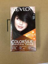 12 Lot Revlon COLORSILK Beautiful Color 11 SOFT BLACK w/ 3D Technology Hair Dye