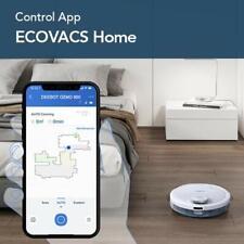 Ecovacs Deebot OZMO 900 - Robot Aspirador 4 en 1: barre, aspira, pasa mopa y fri