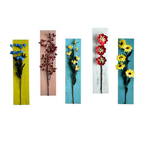Hanging Wall Decor with Artificial flower