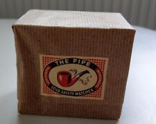 """Streichholzschachtel - """"THE PIPE Solo Safety Matches"""" - 10er Pack - NEU"""