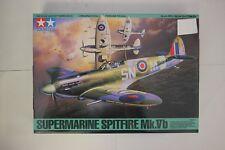 Tamiya 1/48 61033 Supermarine Spitfire Mk.vb Plastic Model Kit