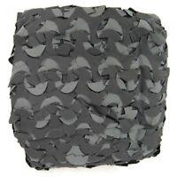 Filet bâche de camouflage - noir/gris - plusieurs tailles*