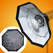 70cm WHITE Portable Honeycomb Grid Beauty Dish Octagon Softbox for Bowens Flash