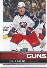 Upper deck Young Guns 2012-13 CODY GOLOUBEF #215 Rookie  Columbus Blue Jackets
