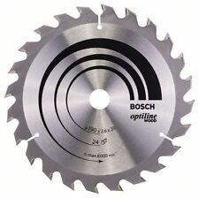 BOSCH Optiline bois Lame scie circulaire 190x20x24 2608640612