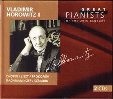 Vladimir Horowitz 2 Great Pianists of the 20th Century CHOPIN LISZT Prokofiev