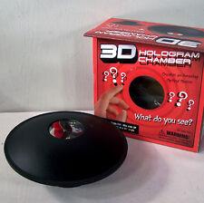 Illusion Chamber 3D Magic Hologram trick optical dish