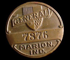 MARION INDIANA ~ EMPLOYEE BADGE ~ GENERAL