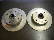 VW Brake Rotors (new, pair of front rotors for VW 412)