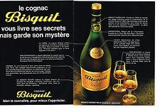 PUBLICITE  1980   BISQUIT  cognac (2 pages)