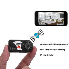 WIFI Mini DV IP Wireless Spy Cam Night Vision Camera Security For Android IOS US