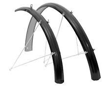 "Guardabarros 26 "" de Acero Negro 51 mm para Bicicleta Paseo Clasica Vintage 6269"