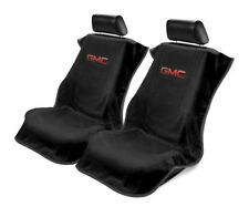 Seat Armour 2 Piece Front Car Seat Covers For GMC - Black Terry Cloth