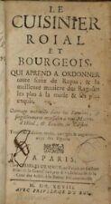 EBOOKS 29 livres anciens de cuisine et de gastronomie 1662-1899 PDF