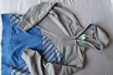 Gr 152 Sweatjacke s.Oliver Sweatshirtjacke Kaputzenjacke grau blau 👦 Jungen