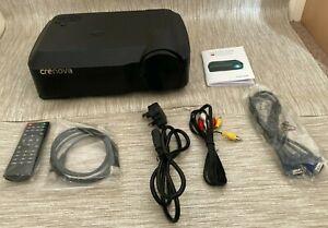HD Ready Projector- Crenova XPE650 HD 2800 Lumens 60-120 Inches RRP £579.99