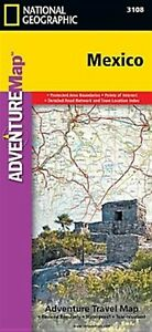 Mexico by National Geographic Maps - Adventure