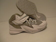 Nike shoes soldier viii (GS) size 5 Youth new with box white gray