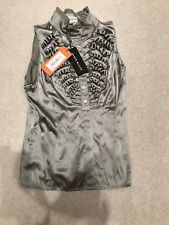 Karen Millen Sleeveless Top / Shirt Size 10 Origianal