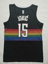 Denver Nuggets Jokic No.15 Jersey Black