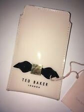 Ted Baker Womens Cream Slim bow Iphone Case