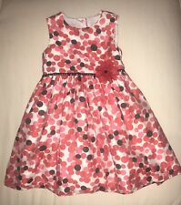 Pippa & Julie Dresses   Polka Dot Special Occasion Dress  Size 4  Color:Red