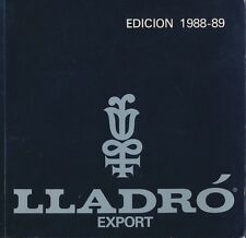 Lladro Export: Edicion 1988-89 Porcelain Catalog  Spain W2A