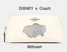 Coach 91784 X Disney Cosmetic Case 17 Pouch Dumbo Chalk