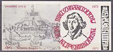 POLAND 1974 Matchbox Label - Cat.A#036p. International Copernicus Year 1973.