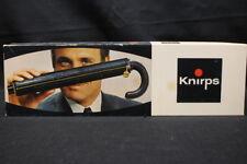 KNIRPS Black Handle Umbrella, New Yorker, In The Original Box