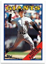 ⚾️ 1988 ~ Topps #754 ~ Mike LaCoss ~ San Francisco Giants ~ Ex=5