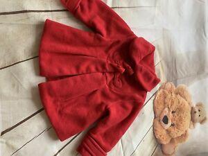 next baby girl coat 9-12 Months🎀