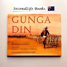 (Vintage) GUNGA DIN ~ R. Kipling, R. Parker (1987). Hardcover Illustrated.