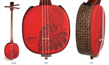 Shamisen SANSHIN Traditional Okinawa Ryukyu Monstera Red Japan NEW
