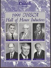 1991 Texas Coach Magazine August Hall Of Fame Spike Dykes 19229