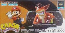 PVP Game Station - 8 Bit Digital System Super wide Color  2.8 LCD whit games