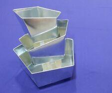 Wonky Topsy Turvy Pentagon Baking Tins - 3 Tier
