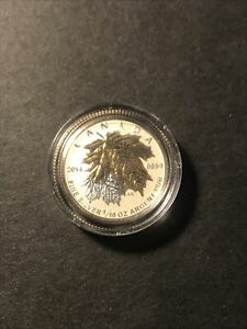 2014 1/10oz Proof Maple Leaf Silver Coin