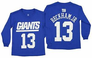 Outerstuff NFL Youth New York Giants Odell Beckham Jr. #13 Mainliner Player Tee