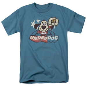Underdog Flying Logo Short Sleeve T-Shirt Licensed Graphic SM-5X