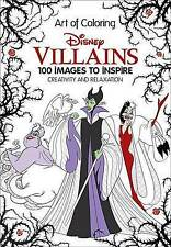 Art of Coloring: Disney Villains: 100 Images to Inspire Creativity and...