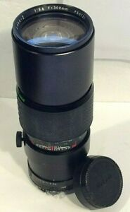 Sigma-Z Pantel 300mm f/5.6 Pan-Focus Prime Camera Lens Fits Nikon F AI Mount